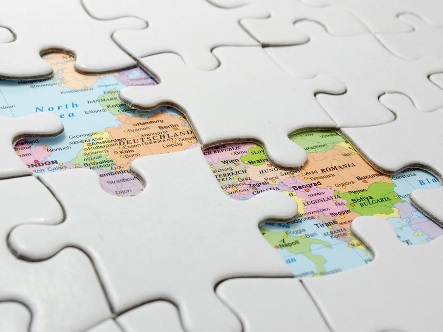 Connecting Europe Puzzle