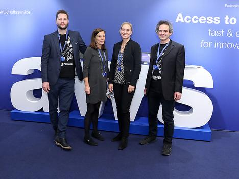 "Four young entrepreneurs on ""Innovative Enterprise Vienna"" 2018"
